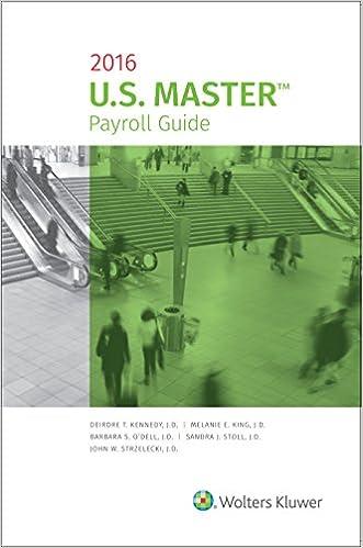 U. S. Master payroll guide 2018 edition pdf.