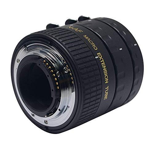 (Mcoplus MK-N-AF1-B Metal by Plastic Mount Auto Focus Macro Extension Tube for Nikon D7100 D7000 D5300 D5100 D5000 D3100 D800 D750 D600 D300s D300 D90 D80)