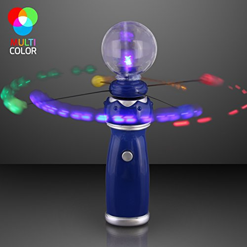 Cool Novelty Products - FlashingBlinkyLights Orbiting LEDs Toy Wand with