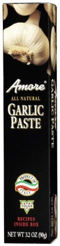 Amore Garlic Paste - Amore Paste Garlic, 3.2-Ounce Tubes (Pack of 6) by Amore