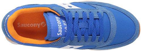 SauconySaucony Jazz Original - Scarpe da Ginnastica Basse donna, blu (Blue/Orange), 42 EU M