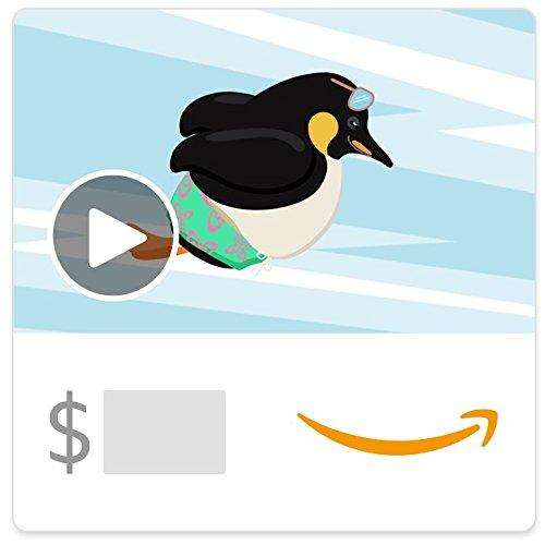 Amazon eGift Card - Father's Day Penguins (Animated)