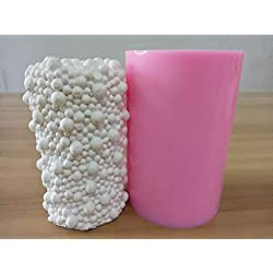 Great Mold Bubble Candle Mold 3D Pillar Silicone C