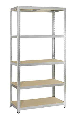 etagere metal strong 175 galvanise 5 tablettes