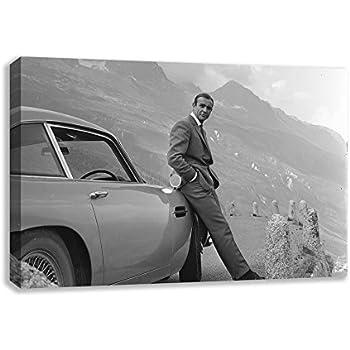 Amazon Com Aston Martin Db5 Skyfall Daniel Craig James Bond Canvas
