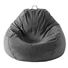 Mybeanbag Chair Adult Pear, Gray