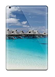 Rugged Skin Cases Covers For Ipad Mini- Eco-friendly Packaging(hilton Bora Bora)