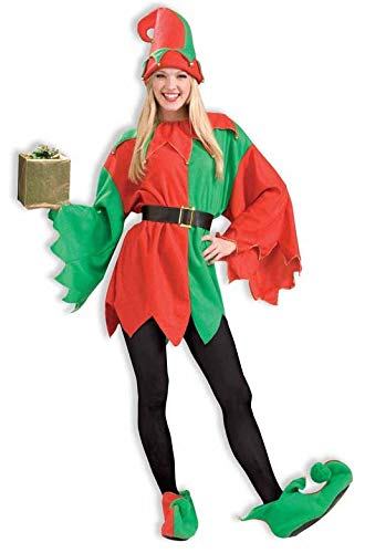Forum Novelties Men's Unisex Elf Costume, Multi, One Size