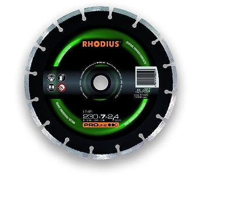 Rhodius 302454 Diamant-Trennscheibe LD 40, 230 x 7 x 2.6 x 22.23 mm LD40-230