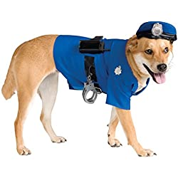 Rubie's Police Dog Pet Costume, Large