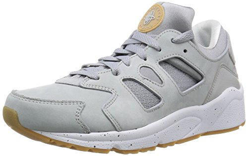 Nike Air Huarache International PRM, Zapatillas de Running para Hombre Gris / Blanco (Wlf Gry / Wlf Gry-Smmt Wht-Gm Lg)