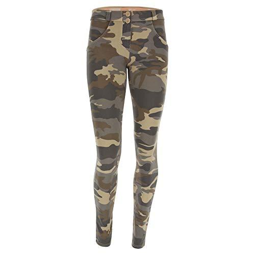 Camouflage Chiaro Para Freddy Z48m Mujer Pantalón qnHa7wfPt