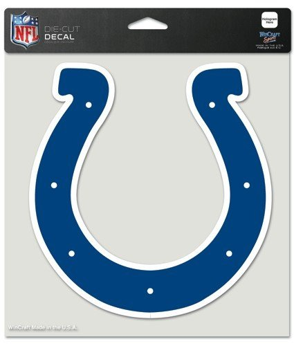 NFL Indianapolis Colts Die-Cut Color Decal, 8
