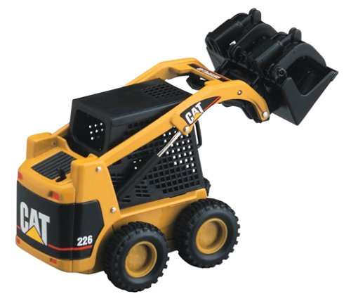 Caterpillar Skid Steer >> Amazon Com Caterpillar 55036 1 32 Scale 226 Skid Steer Loader With