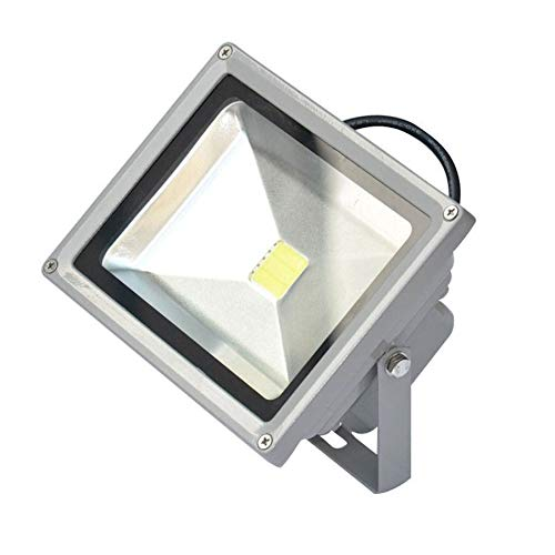 Foco LED 50 W Kit 2 piezas para exterior con potente doble IP65 ...