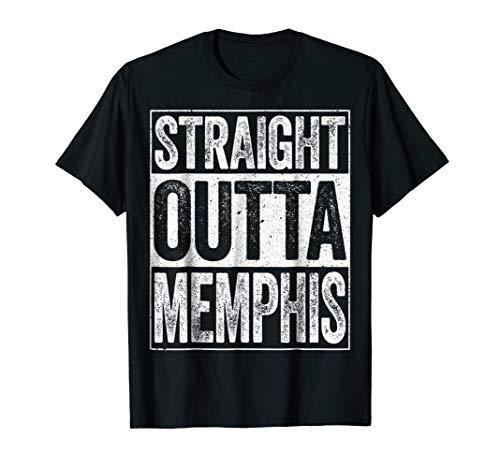- Straight Outta Memphis T-Shirt Tennessee Gift Shirt