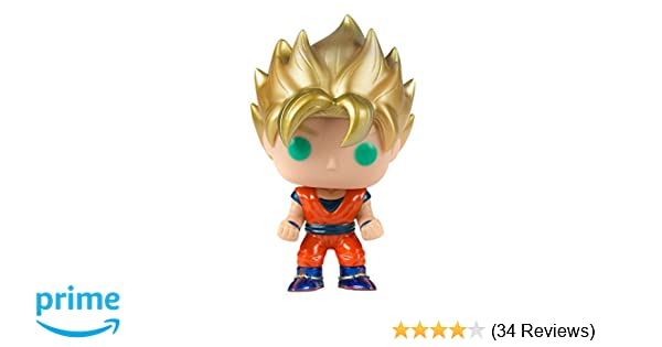 """2001 IRWIN Dragonball Z DBZ  Collection SS3 GOKU action figure 5.5/"""" LOST COLOR"""