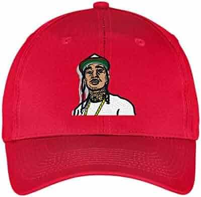12b92bc966078 Nipsey Hussle Cartoon Hat RIP Ermias Asghedom Hip Hop Rap Trap Music  Embroidered Baseball Dad Cap