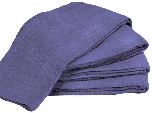 Towels by Doctor Joe 9-SUR-B16-100EA Surgical Huck Ceil Blue 16'' x 25'' Pre-Washed Towel, (Pack of 100) by Towels by Doctor Joe