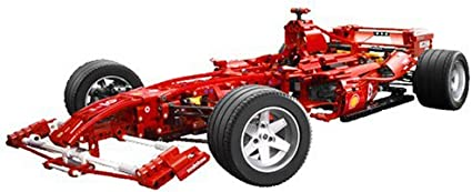 Lego Racers Ferrari F1 1 8 Amazon Co Uk Toys Games
