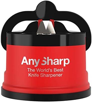 Afilador de cuchillos afila un cuchillo de cocina de forma segura y manos libres,Afilador de cuchill