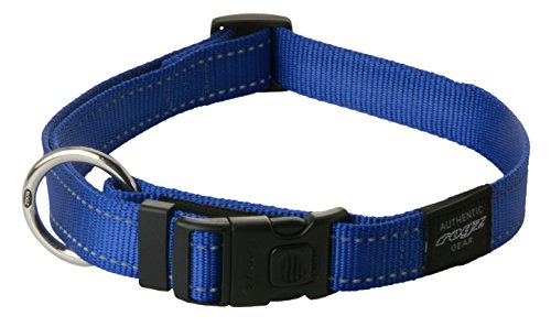 reflective-dog-collar-for-large-dogs-adjustable-from-13-22-inches-blue