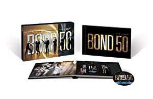 Cover Image for 'Bond 50: The Complete 22 Film Collection (with Limited Edition Hardcover Book)'