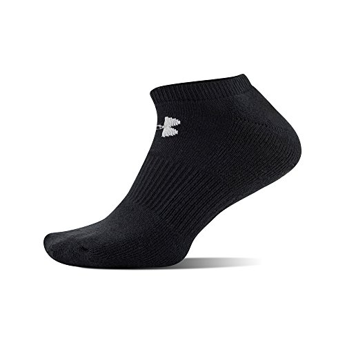 Under Armour Men's Charged Cotton No-Show Socks (Pack of 6)