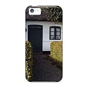 New Arrival Case Specially Design For Iphone 5c (european Villas Gardens Trees)