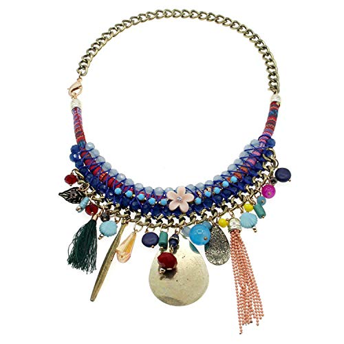 Best Gifts Fashion Hand Made Charm Pendant Choker Necklaces Women Wedding Accessories Statement Party Jewelr