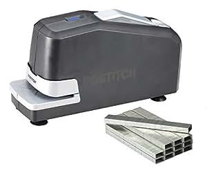 Bostitch Impulse 25  No-Jam  Electric Stapler Value Pack, Staples and Staple Remover, Black (02638)