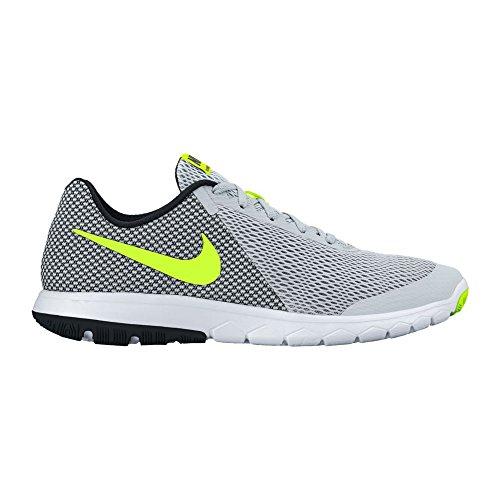 Nike Flex Experience Rn 6, Sneakers para Hombre, Nero / Arancione Weiß