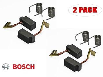 bosch 1295 dvs replacement carbon brush set 2610353931 2 pack rh amazon com Bosch Orbital Sander Bosch Backing Pad