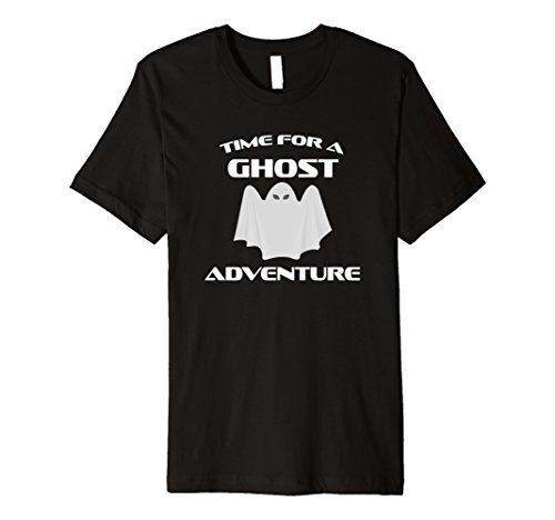 Funny, scary Time for a ghost adventure T-Shirt myth gift