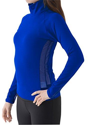 99.3% UVカット 夏 袖脇メッシュ 圧迫感がなく首が長い ハイネック インナーシャツ テニス ゴルフ