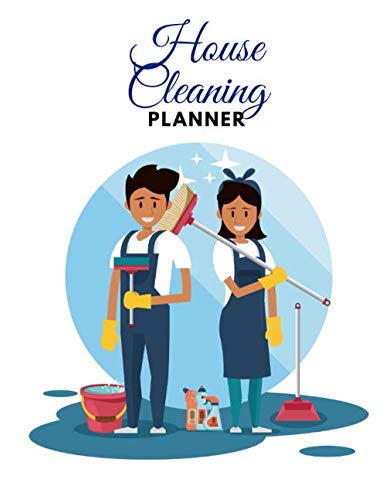 HOUSE CLEANING PLANNER: Daily, Weekly Routines for Flylady's Control Journal (US Letter size 8.5x11) for Home Management followers