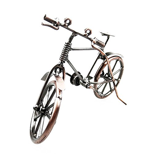 Lchen Metal Bike Model,7.5Inch Artwork Home Room Decorations Gift