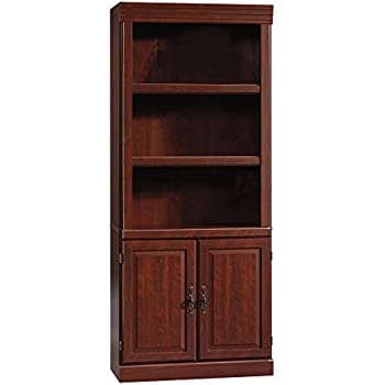 sauder cabinet with doors sauder orchard library with doors 25857
