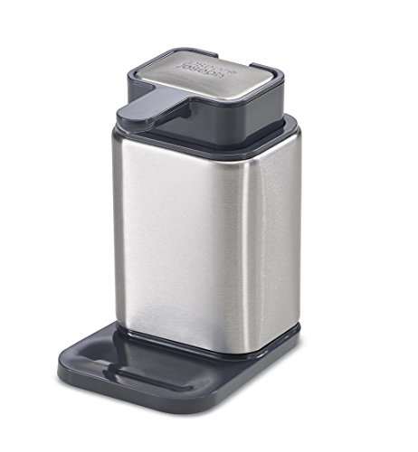 Joseph Joseph 85135 Surface Dispenser Stainless Steel Pump and Soap Bar Odor Removal for Kitchen Sin - http://coolthings.us