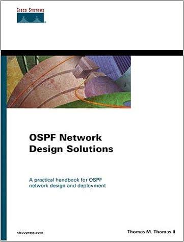 OSPF Network Design Solutions: Tom Thomas: 0619472700464: Amazon com