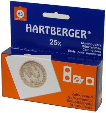 Safe Albums Harteberger Self Adhesive Coin Holder Size 32.5 mm