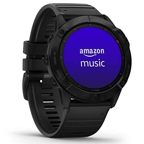 """Garmin fenix 6X PRO GPS-Multisport-Smartwatch mit Herzfrequenzmessung am Handgelenk, bis zu 28 Tage Akku, 1,4"""" Display, wasserdicht, kontaktloses Bezahlen, Musikplayer, vorinstallierte Karten, WLAN"""