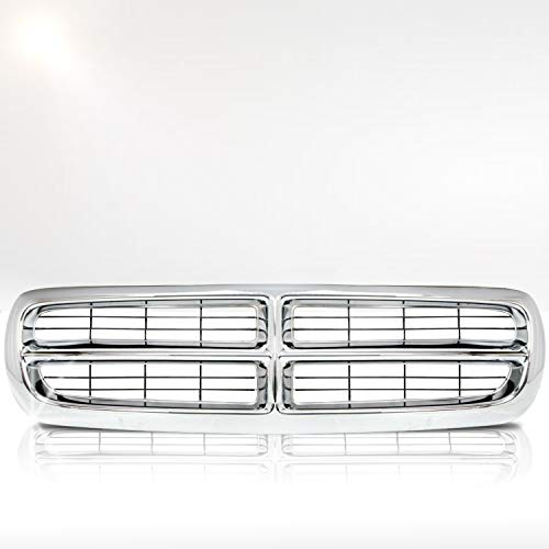 Make Auto Parts Manufacturing Horizontal Bar Grille Chromed Shell with Black Insert For Dodge Dakota 1997-2004 / For Dodge Durango 1998-2003 - CH1200199