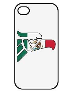 TooLoud Hecho en Mexico Eagle Symbol - Mexican Flag iPhone 4 / 4S Case