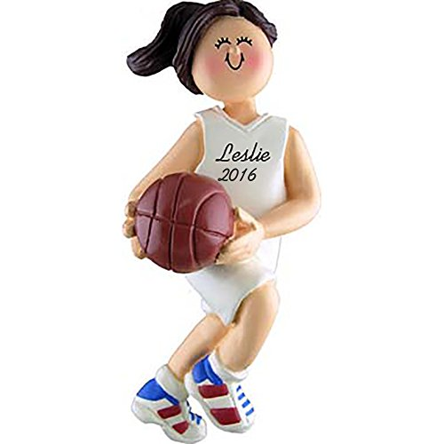 Basketball Girl Personalized Ornament