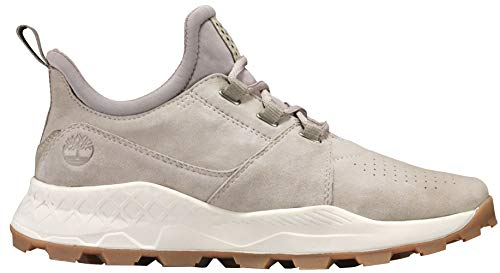 - Timberland Men's Brooklyn Oxford Light Taupe Suede 10 D US