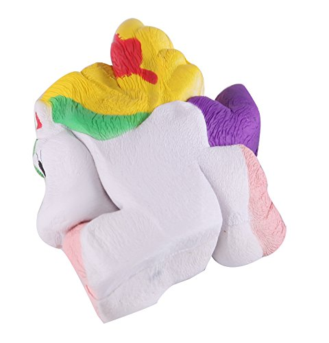 Anboor Squishies Unicorn Mini Slow Rising Kawaii Scented Soft Squishies Animal Toy Prime 1 Pcs Color Random