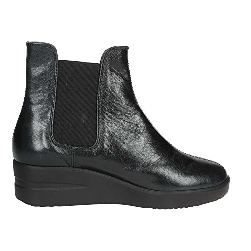 209 By Women Agile Ankle Boots Heels Wedge Rucoline 38 Black with xEdpqfwUd