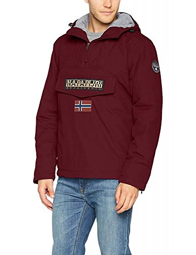 Bordeaux Uomo Napapijri Rainforest Giacca Winter nx1qw8pfIw