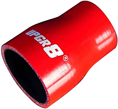Hiwowsport 4 Length Straight 4-Ply High Performance Straight Reducer Silicone Hose for Auto 2.0 to 1.5